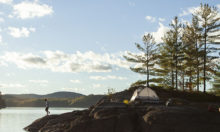 Camping on Islands