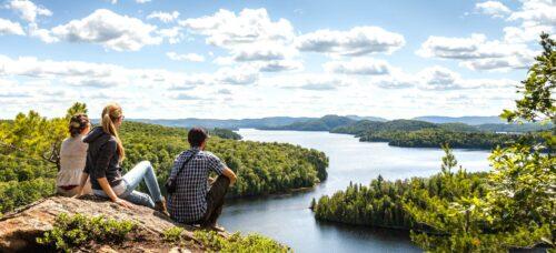 Parc régional Poisson Blanc sentier pédestre randonnée