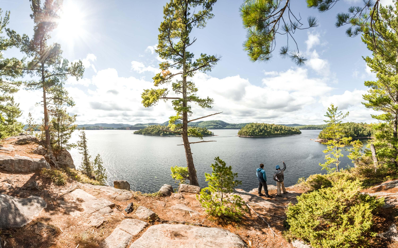 Poisson Blanc escalade camping îles climbing