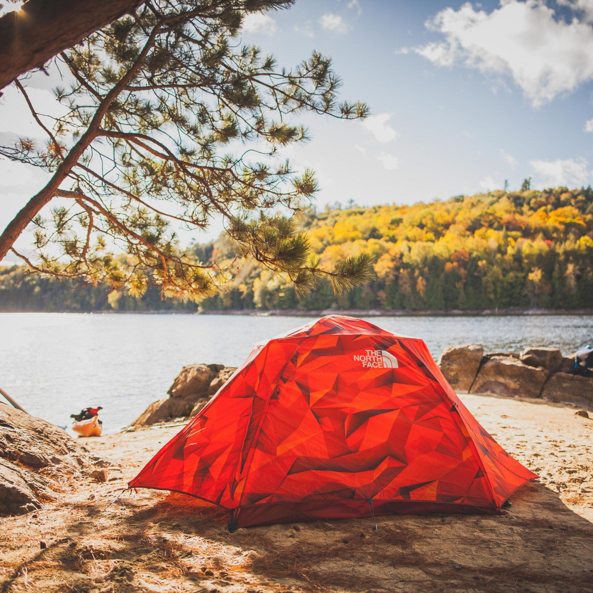 Poisson Blanc camping quebec